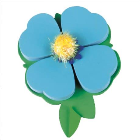 Petal Pads Blue Sticky Notes