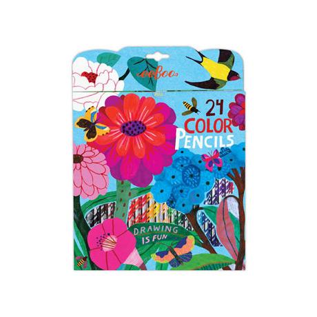 Zinnia: 24 Color Pencils
