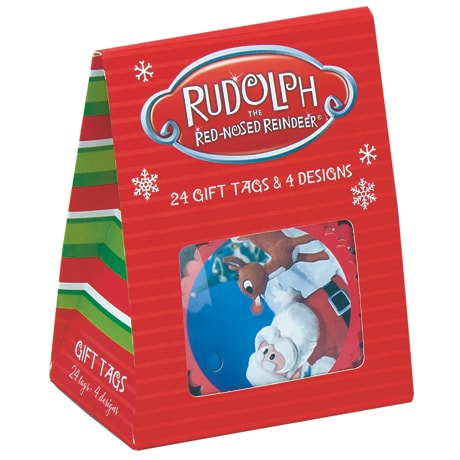 Rudolph the Red-Nosed Reindeer Gift Tags