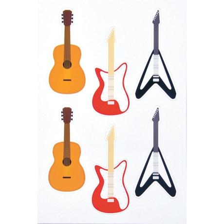 Guitar Vinyl Magnets