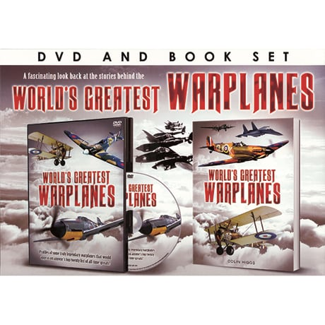 World's Greatest Warplanes DVD & Book Set