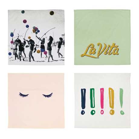 La Vita Kerchief Set (Set of 4)