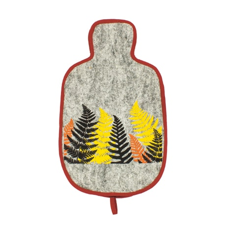 Ferns Hot Water Bottle Cover