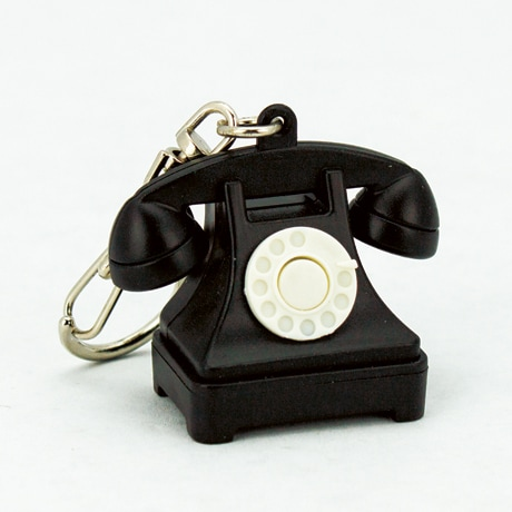 Talking Telephone Keychain