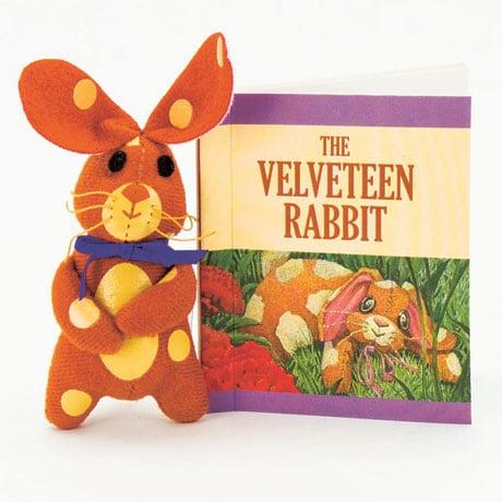 The Velveteen Rabbit Mini Kit Plush Toy And Illustrated Book