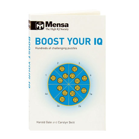 Mensa Boost Your IQ Hundreds Of Challenging Puzzles