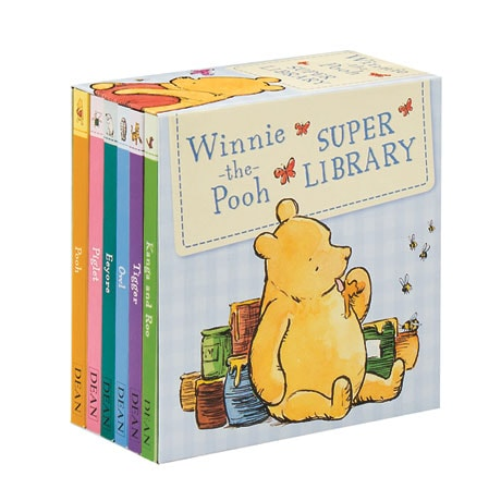 Winnie-The-Pooh Super Library