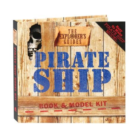 The Explorer's Guides: Pirate Ship Book & Model Kit