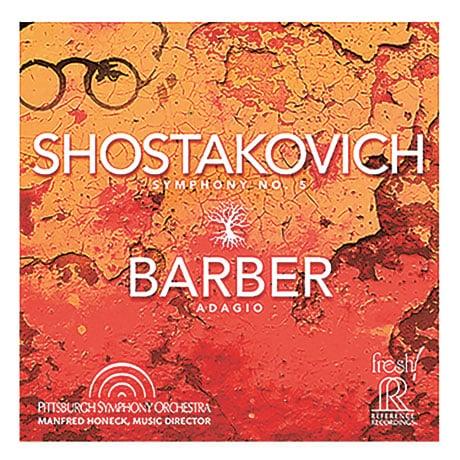 Shostakovich Symphony No. 5; Barber: Adagio