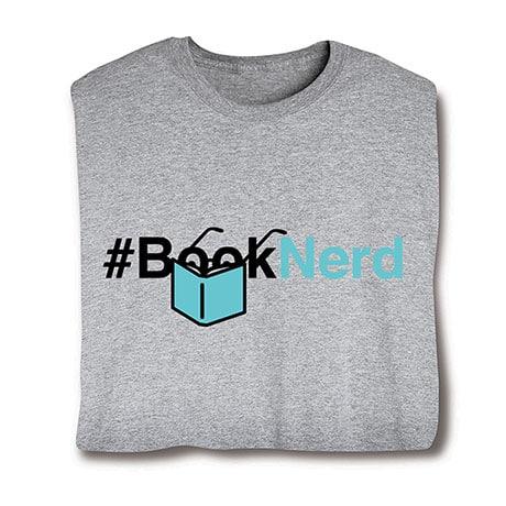#BookNerd T-Shirt