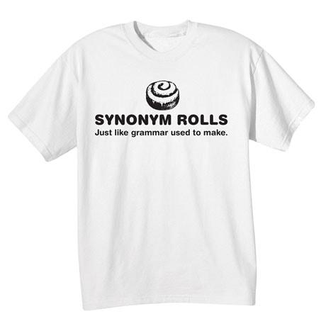 Synonym Rolls T-Shirt