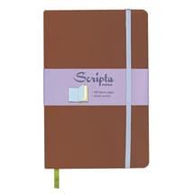 Scripta Notes Large Nutmeg Blank Journal