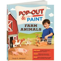 Pop-Out & Paint: Farm Animals