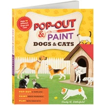 Pop-Out & Paint: Dogs & Cats