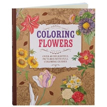 Kew Gardens Beautiful Flower Coloring Book Over 40