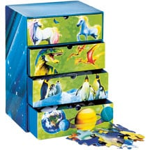 Four Glow in the Dark Puzzles