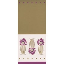 Charles Rennie Mackintosh Large Lined Magnet Notepad