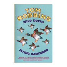 Wild Ducks Flying Backward