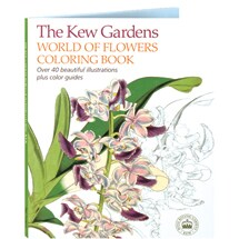 The Kew Gardens World of Flowers Coloring Book