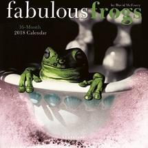 Fabulous Frogs 2018 Mini Wall Calendar
