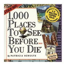 1,000 Places to See Before You Die 2018 Page-a-Day Calendar
