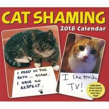 Cat Shaming 2018 Daily Calendar
