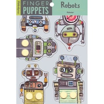 Robots Finger Puppets