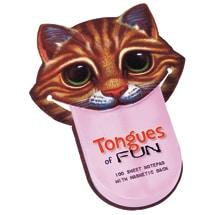 Tongues of Fun Cat Notepad