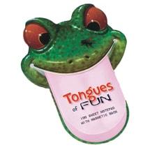 Tongues of Fun Frog Notepad