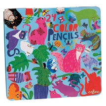 Cats at Work Pencil Tin