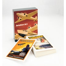 Aviation Art Boxed Notecards