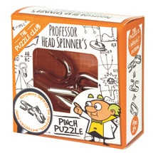Professor Head Spinner's Pinch Puzzle
