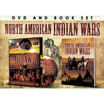 North American Indian Wars DVD & Book Set