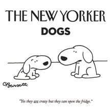 <I>The New Yorker</I> Dogs Notecards
