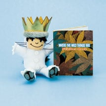 Where The Wild Things Are Max Plush Toy And Sticker Book