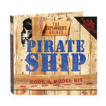 The Explorer's Guides: Pirate Ship Book & Model Kit